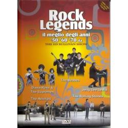Rock legends il meglio degli anni 50 60 70 da The Ed Sullivan Show - DVD